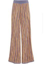 Pepa Pombo - Santa Ana Stripe Wide-leg Trousers - Lyst