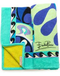 Emilio Pucci   Printed Beach Towel   Lyst