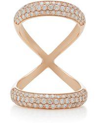 Carbon & Hyde - Olympus 18k Rose Gold Diamond Ring - Lyst