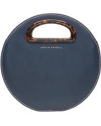 Loeffler Randall - Indy Circle Leather Crossbody Bag - Lyst