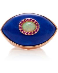 Marlo Laz - Iris Opal And 14k Gold Ring - Lyst