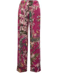 For Restless Sleepers - Etere Floral Wide Pant - Lyst