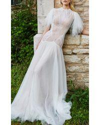 Costarellos Bridal - Angel-sleeve Gown - Lyst