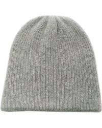 b2363f069edc7 Lyst - The Elder Statesman Lil  Lookout Cashmere Beanie in Blue for Men