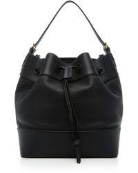 Loewe Midnight Calfskin Bucket Bag - Black