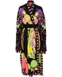 Yuliya Magdych - Firebird Embroidered Midi Robe - Lyst