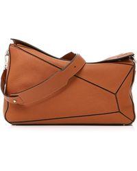 Loewe - Extra Large Calfskin Puzzle Bag - Lyst
