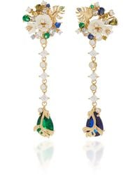 Anabela Chan - M'o Exclusive Emerald Paradise Drop Earrings - Lyst