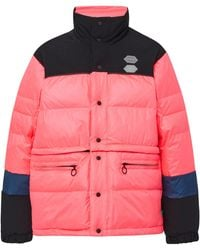 Off-White c/o Virgil Abloh - Colorblocked Shell Puffer Coat - Lyst