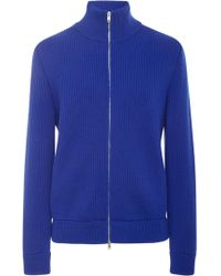 Maison Margiela - Zip Wool Jumper - Lyst