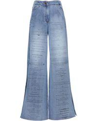 Johanna Ortiz - Mood Indigo High-rise Wide-leg Jeans - Lyst