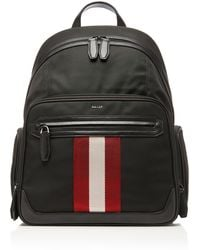 Bally - Striped Technical Backpack - Lyst