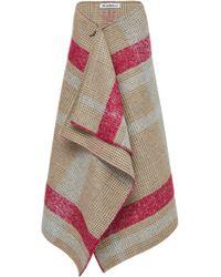 Claudia Li - Wool Blanket Skirt - Lyst