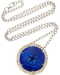 Andrea Fohrman - One-of-a-kind Galaxy Azurite Necklace - Lyst
