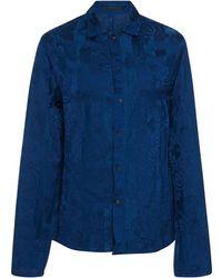 Haider Ackermann - Floral Pyjama Shirt - Lyst