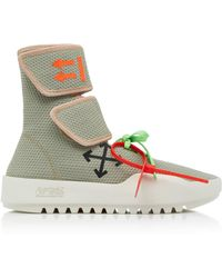 0ef865bcb0fdf3 Men's Off-White c/o Virgil Abloh High-top sneakers On Sale - Lyst