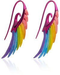 Noor Fares - Fly Me To The Moon 9k Gold And Bamboo Earrings - Lyst
