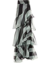Johanna Ortiz - Exclusive Pico Basile Silk Organza Skirt - Lyst