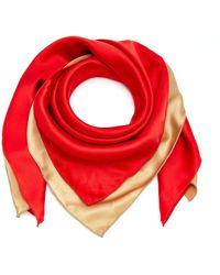 DONNI. - Exclusive Set-of-two Silk-satin Bandanas - Lyst