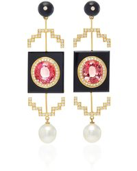 Hanut Singh - One-of-a-kind Deco Windows Earrings - Lyst