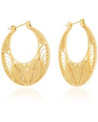 Kora Sterling Silver And 24K Gold Vermeil Earrings Mallarino BQbvYPVm7j