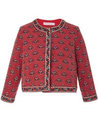 Christophe Sauvat - Miami Short Printed Jacket - Lyst