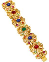 Ben-Amun - Gold-plated Crystal Bracelet - Lyst