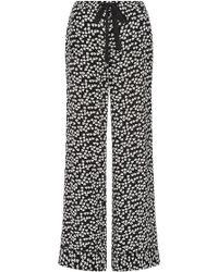 Equipment - Silk Printed Avery Pyjama Trousers - Lyst