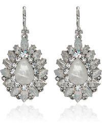 Marchesa - Casa Blanca Earrings - Lyst