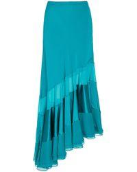 Prabal Gurung - Sofia Asymmetric Silk Skirt - Lyst