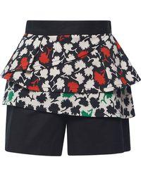 Emanuel Ungaro - Floral Combo Shorts - Lyst