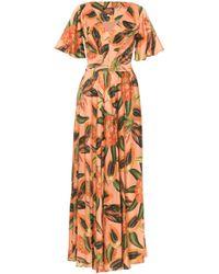 Lena Hoschek - Sunset Papaya Dress - Lyst