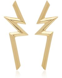 Ralph Masri - 18k Gold Bolt Earring - Lyst