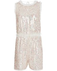 Needle & Thread - Shimmer Playsuit - Lyst