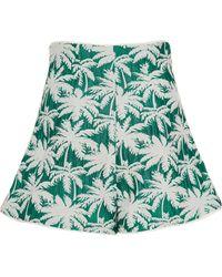 Alexis - Carla Printed Jacquard Mini Shorts - Lyst