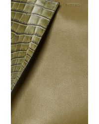 Paule Ka - Mixed Media Leather Tote - Lyst