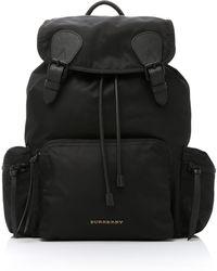 Burberry - Rucksack Shell Backpack - Lyst