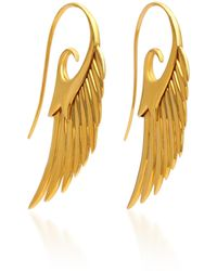 Noor Fares - Fly Me To The Moon 18k Gold Earrings - Lyst