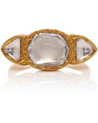 Sanjay Kasliwal - 22k Gold, Diamond Ring - Lyst