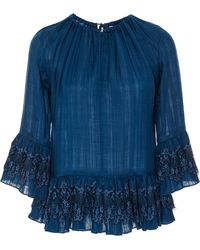 Tryb212 - Stacey Lace Ruffled Top - Lyst