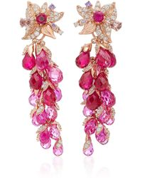 Anabela Chan - M'o Exclusive: Ruby Coralbell Earrings - Lyst