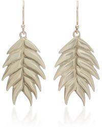 Annette Ferdinandsen - Wild Oat 14k Gold Drop Earrings - Lyst