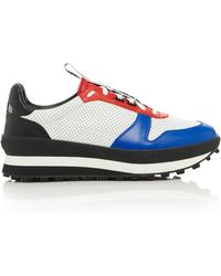 163f22a3bb5 Givenchy - Tr3 Color-blocked Leather Sneakers - Lyst