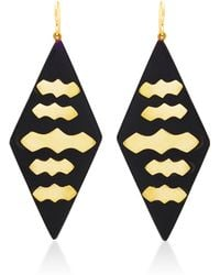 Ashley Pittman - Elimu Earring Dark Horn - Lyst