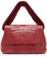 Nancy Gonzalez - Large Flap Shoulder Bag - Lyst