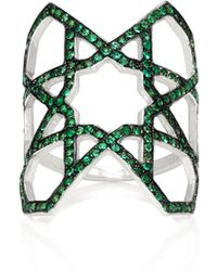 Ralph Masri - M'o Exclusive Arabesque Emerald Ring - Lyst