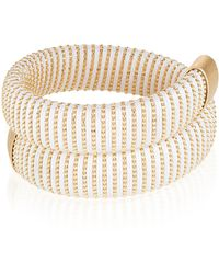 Carolina Bucci - White Caro Gold-plated Bracelet - Lyst