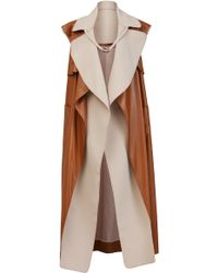 Maticevski - Bewitch Draped Coat - Lyst