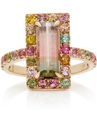 Yi Collection - 18k Gold Tourmaline Ring - Lyst