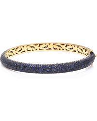 Sanjay Kasliwal - 14k Gold, Silver And Sapphire Bracelet - Lyst
